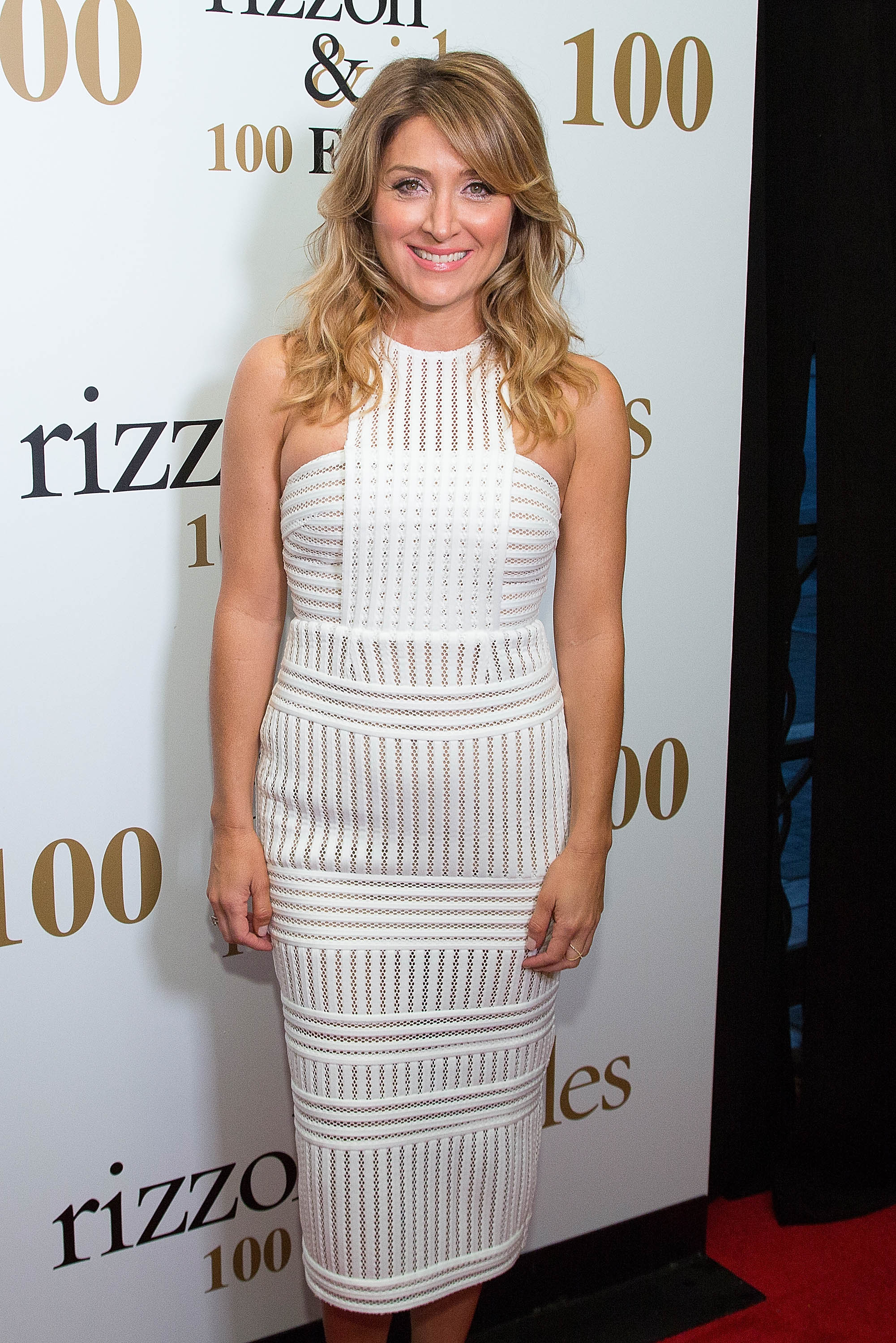 "LOS ANGELES, CA - JULY 09: Sasha Alexander arrives for the 100 Episode Celebration Of TNT's ""Rizzoli And Isles"" - Arrivals at Cicada on July 9, 2016 in Los Angeles, California. (Photo by Gabriel Olsen/FilmMagic)"
